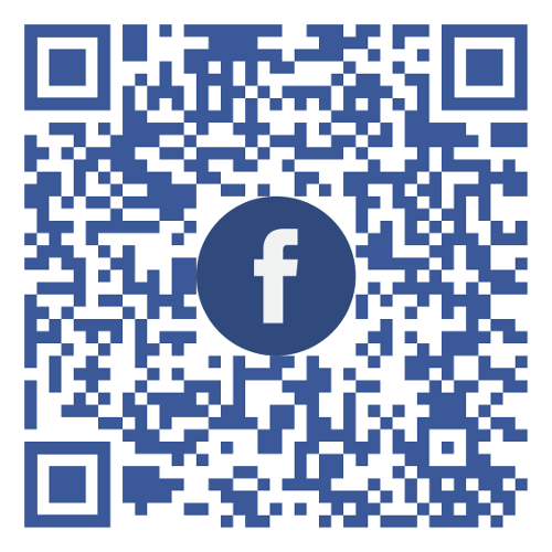 Connect with us on Facebook-QRcode
