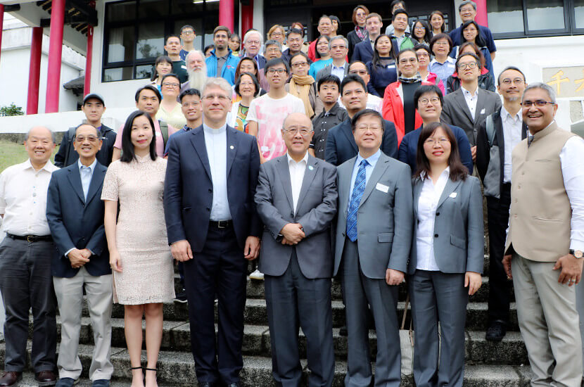 World Council of Christian's General Secretary Rev Dr Olav Fykse Tveit visited Amity HK
