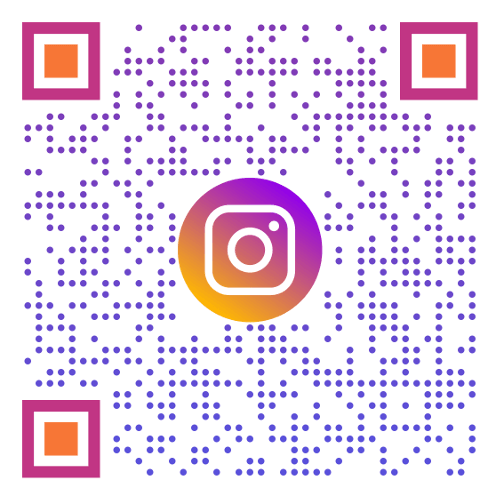 Connect with us on Instagram-QRcode