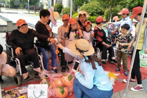 A community charity bazar organized by Amity's NGO development center