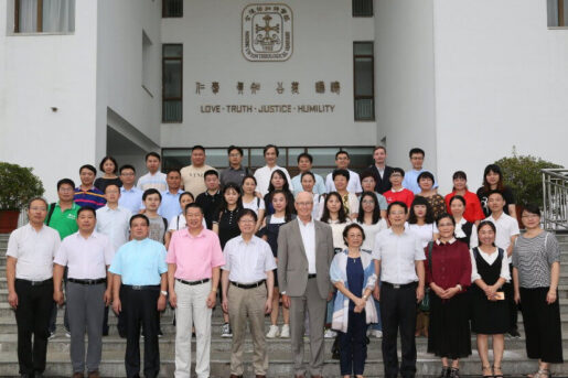 Group photo of participants of the Amity Summer Academy for Diaconia in front of the Nanjing Union Seminary