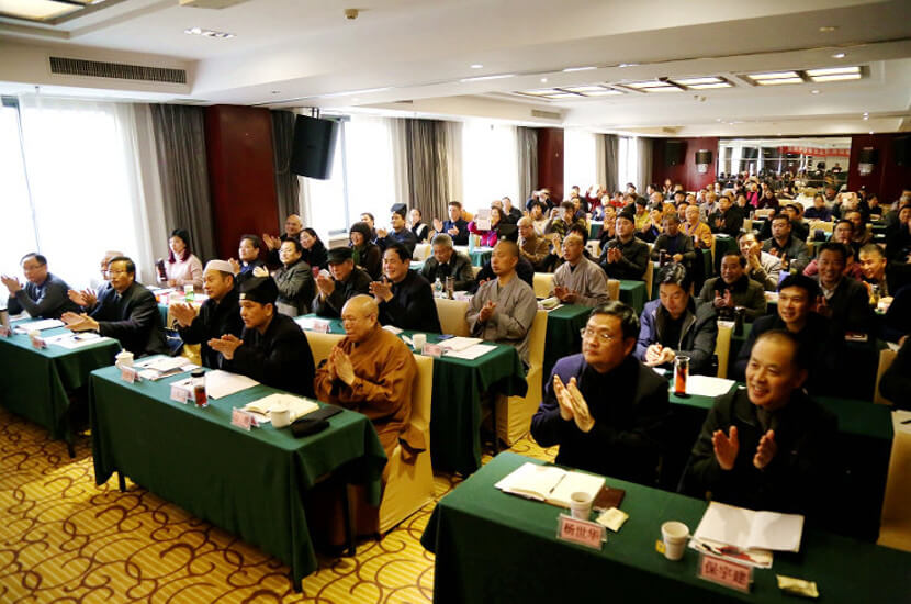 inter-religious workshop for social services with participants of all official religions of China