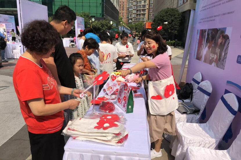 Rende organizes community charity events