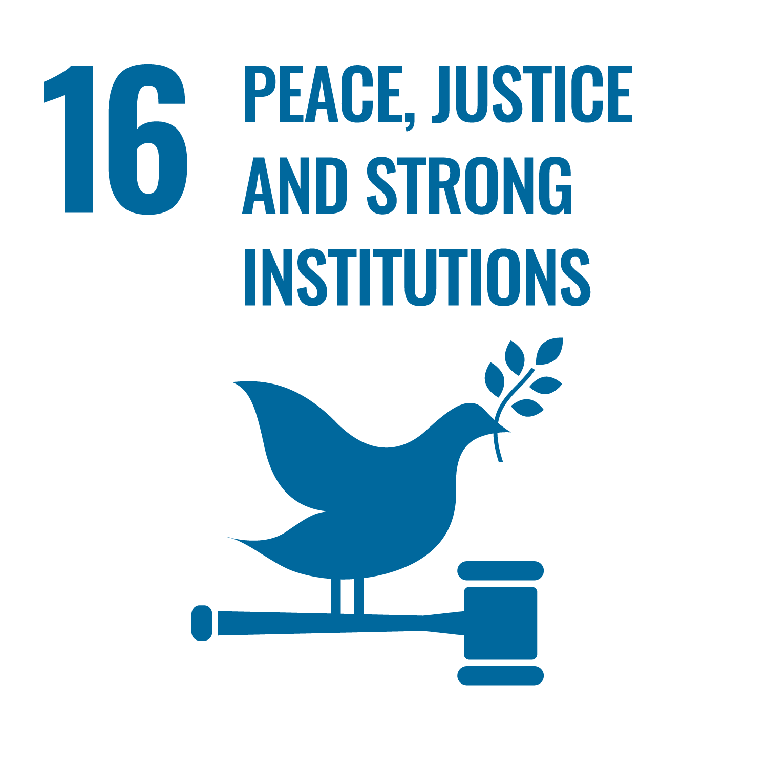 SDG16 Peace, Justice and Strong Institutions